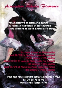 La rentrée à Antonia Flamenco